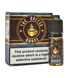 Coffee House Coconut Cappuccino Sub Ohm E-Liquid 3 x 10ml  Liquids